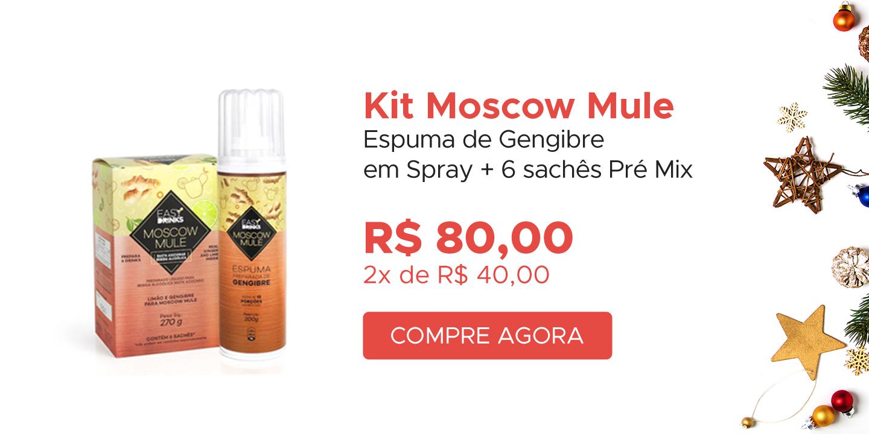 Kit Moscow Mule com Espuma e Premix