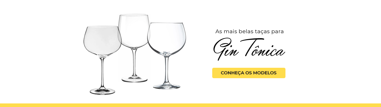 Taças para Gin Tônica