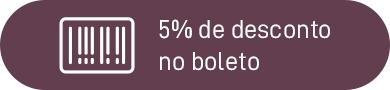 5% de Desconto no Boleto