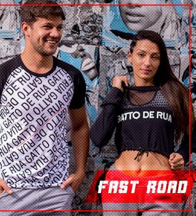 Nova Coleção Fast Road Roupas Esportivas