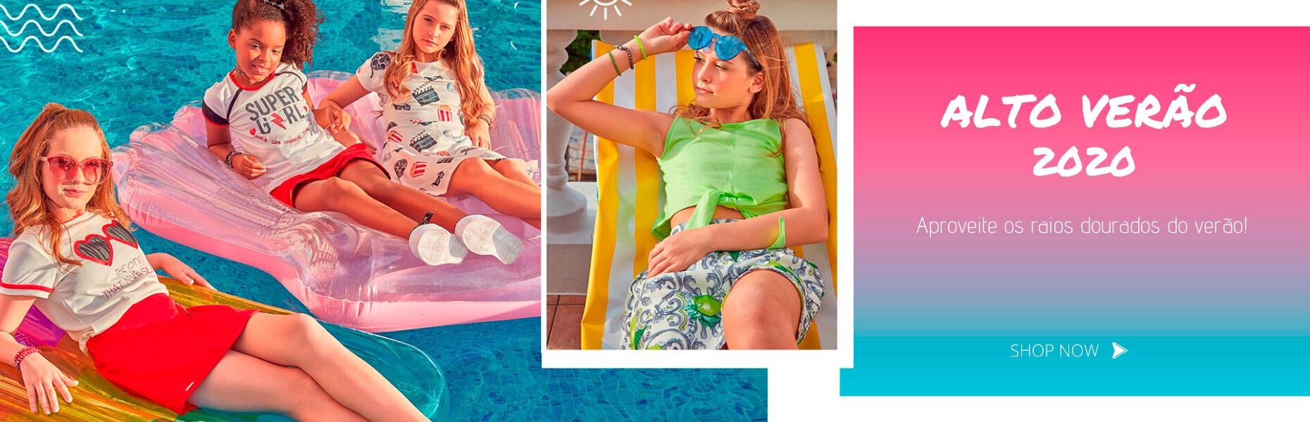 Conjuntos infantis feminino loja online