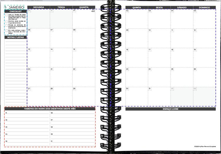 layout Mensal 2020