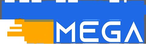 Logo da Magazine Mega