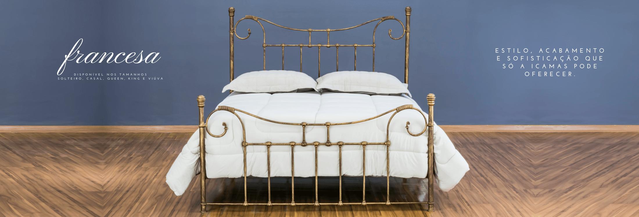 cama de ferro francesa