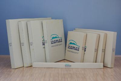 Embalagens das camas Icmas