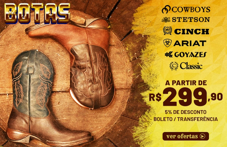 75c3c21013 Loja Cowboys - Moda Country