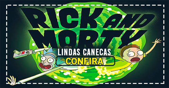 Canecas Rick and Morty
