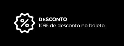10% de desconto no boleto