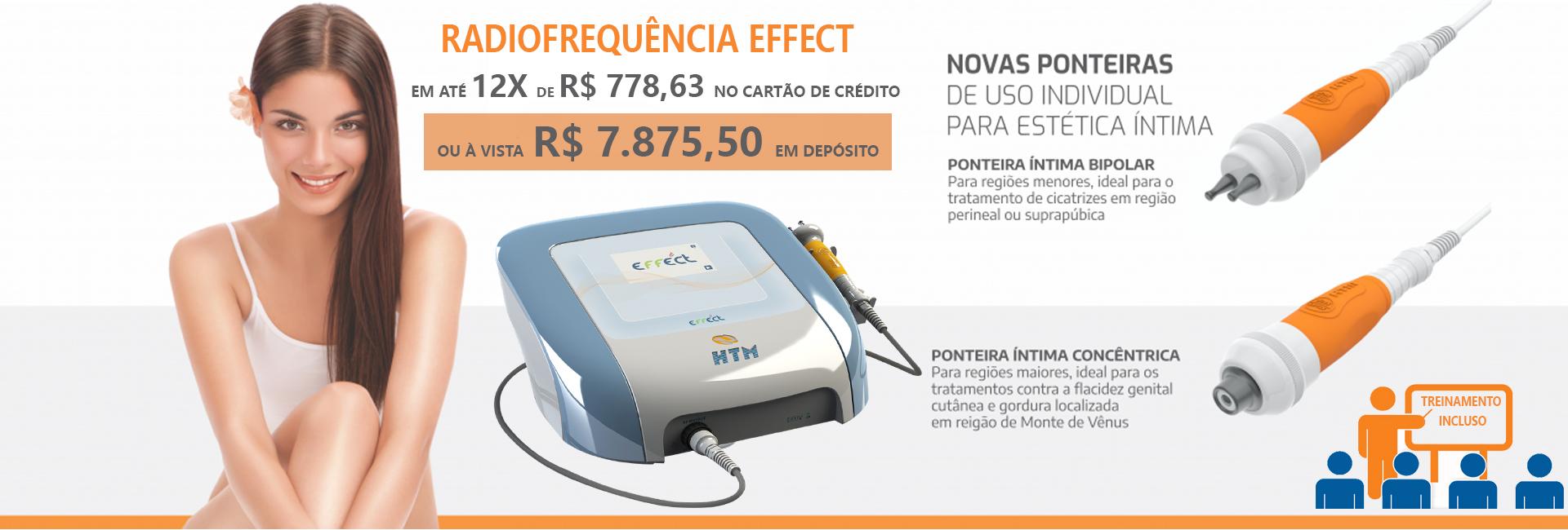 Effect Radiofrequencia compacta de alta potencia HTM
