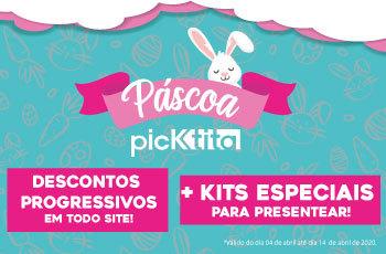 Descontão de Pascoa na Picktita, ganhe até R$30,00 em desconto em todo o site no Mobile