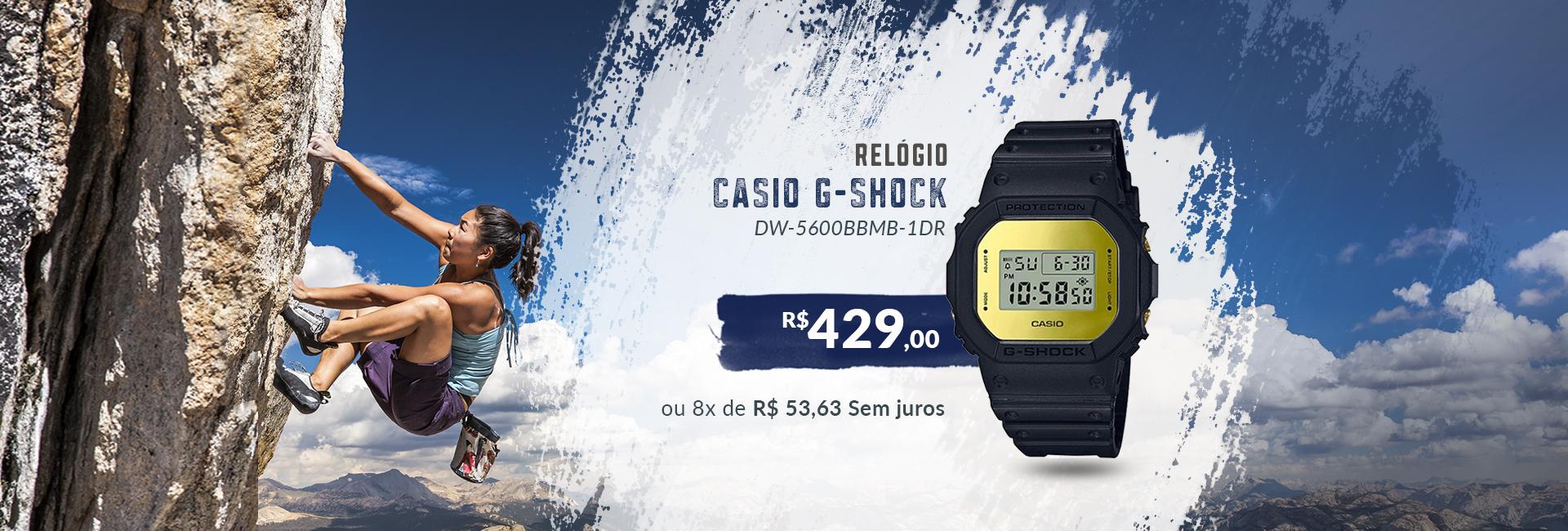 Casio G-Shock Dourado