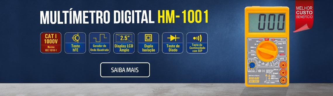Multímetro Digital Hikari HM-1001