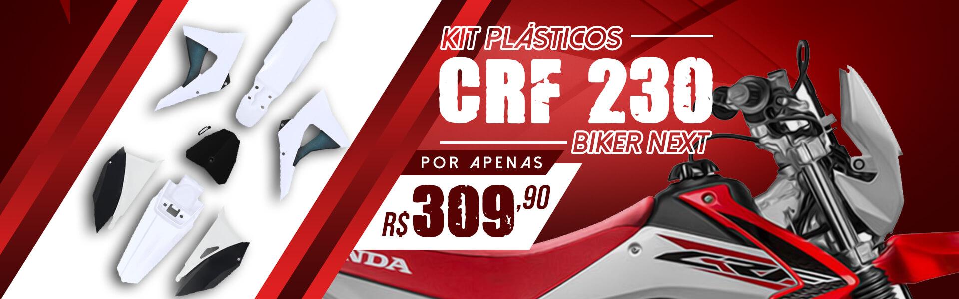 Kit Plásticos CRF 203 Biker Next