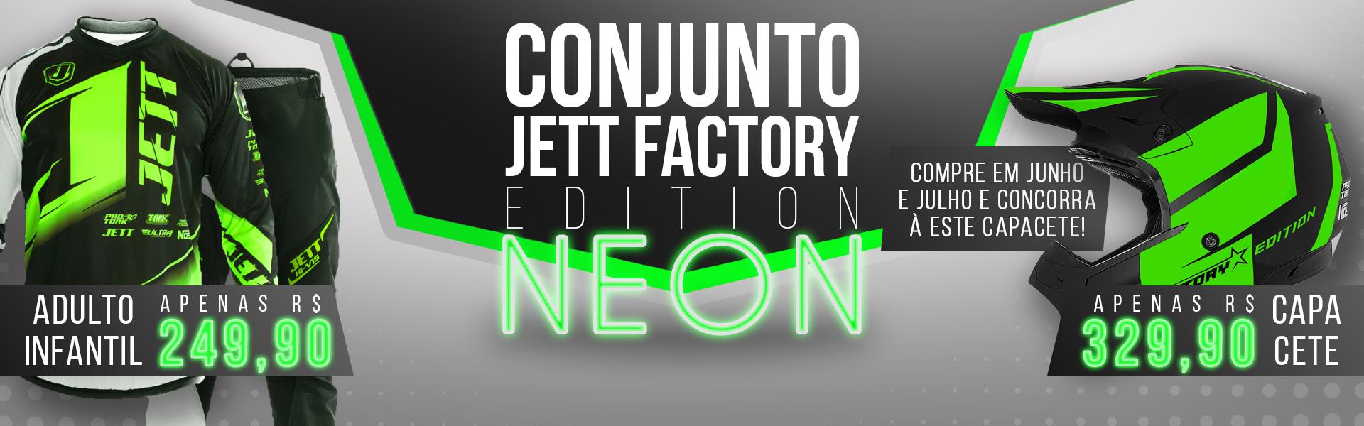 Conjunto Jett Factory Edition Neon