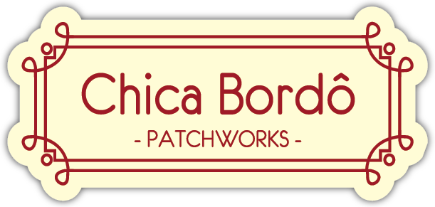 Chica Bordô Patchworks