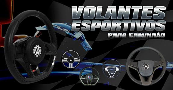 Volantes esportivos para caminhão