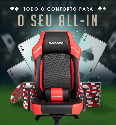 Cadeira Poker MaxRacer