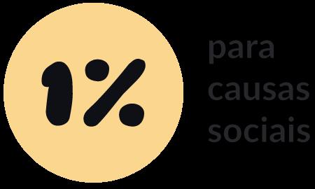 Doamos 1% para causas sociais