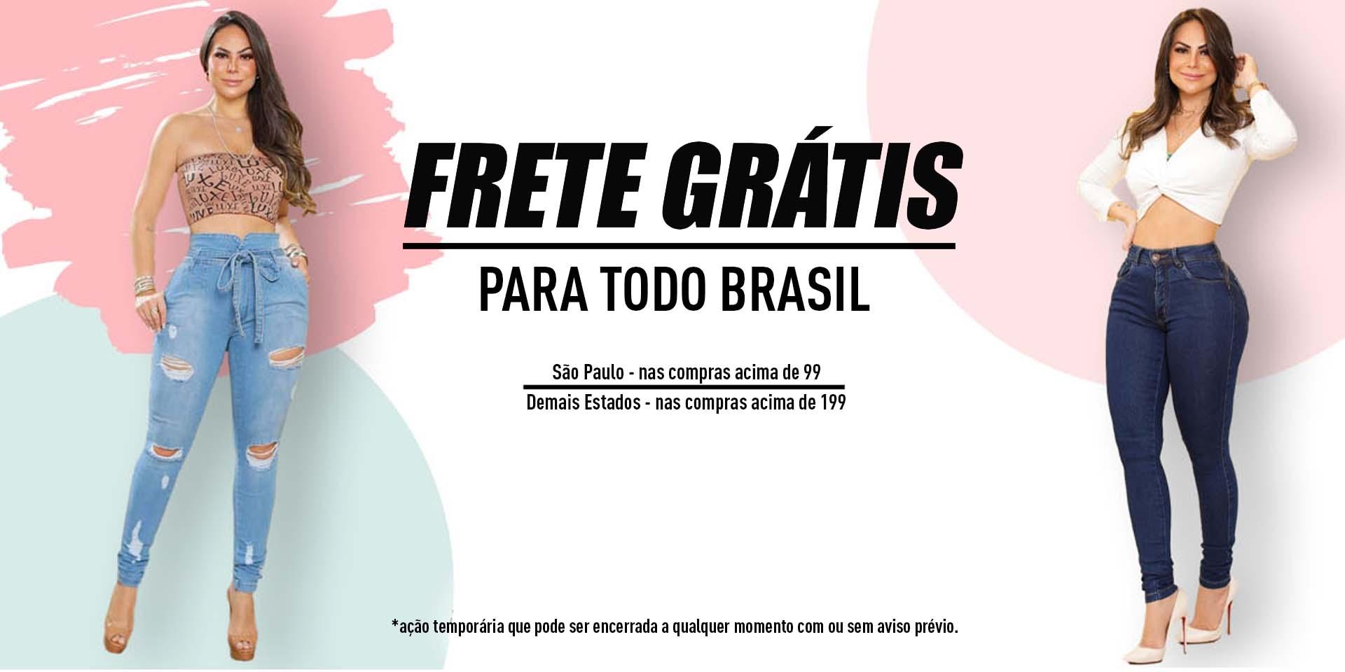 Frete Grátis 99 SP - 199 Brasil