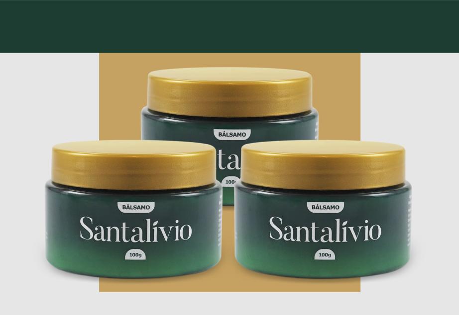 Bálsamo Santalívio - 100g - 3 Unidades