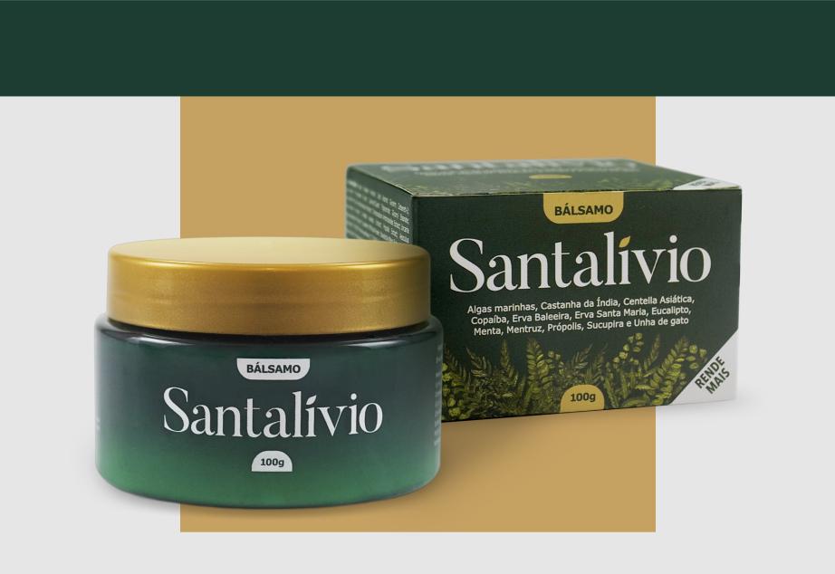 Bálsamo Santalívio - 100g - 1 Unidade
