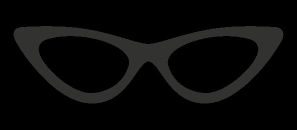 Óculos Estilo Gatinho