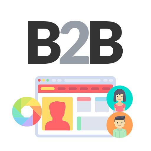 Logo B2B - Perfil de cliente e Tema por perfil de cliente
