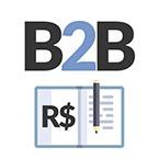 Logo B2B - Lista de Compras e Orçamento