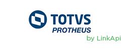Logo TOTVS Protheus via LinkApi