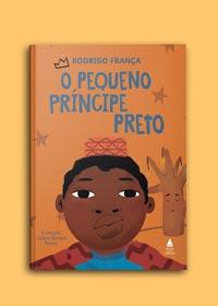 Livro pequeno príncipe preto