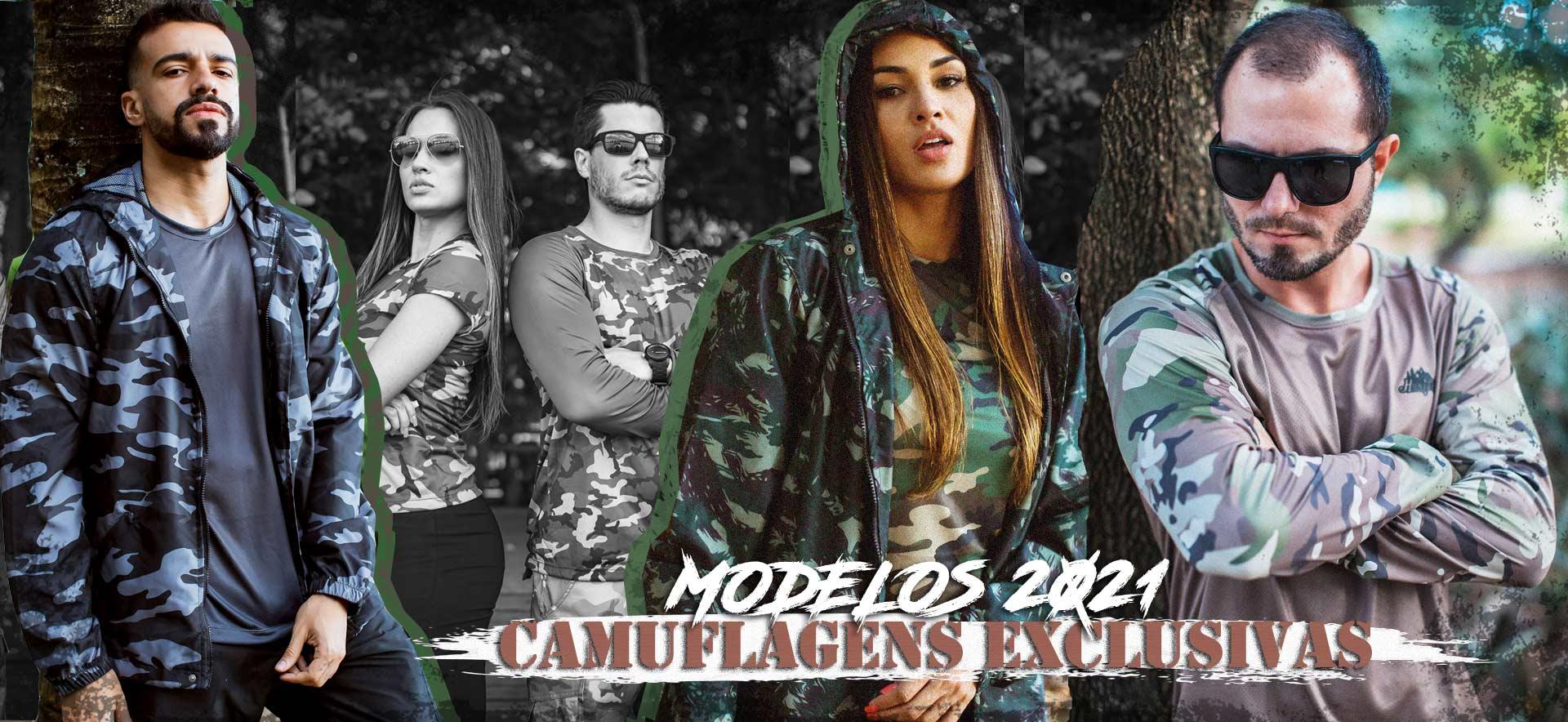 CAMISETAS CAMUFLADAS