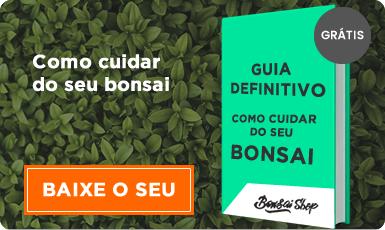 Baixe seu e-book sobre Como Cuidar do seu Bonsai