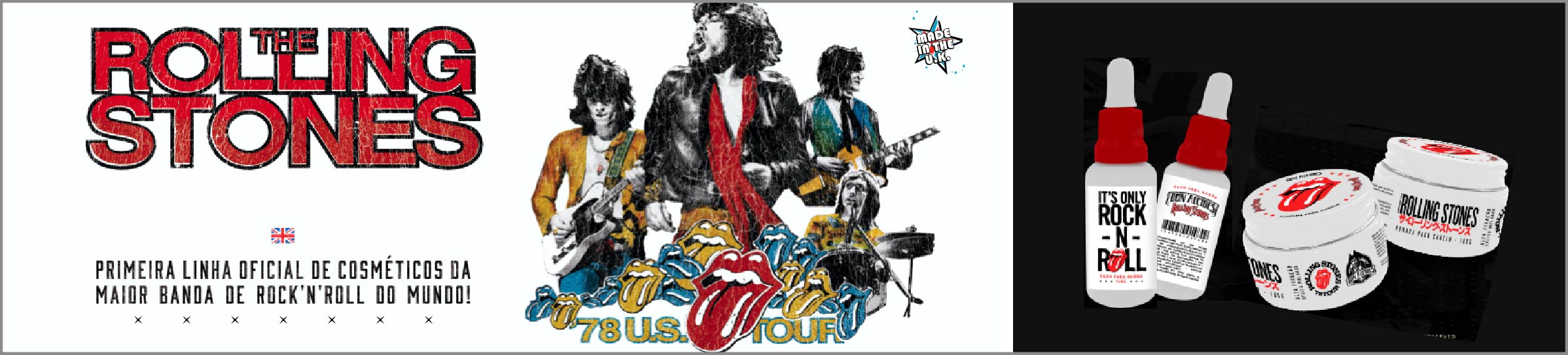 Linha Rolling Stones - Don Alcides