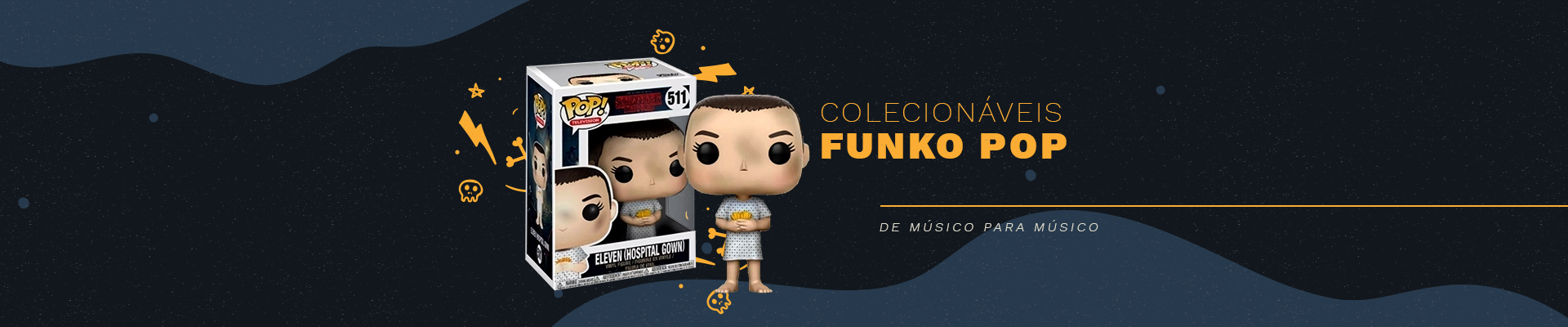 Grande variedade de colecionáveis funko pop