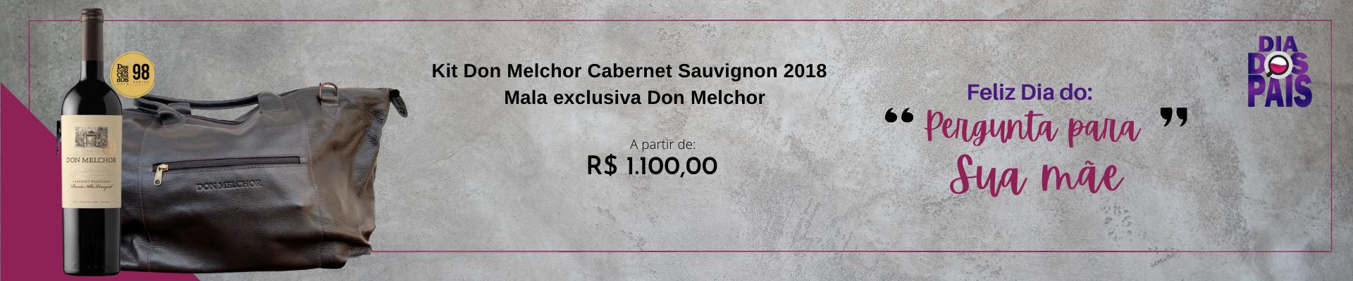 Kit Don Melchor Cabernet Sauvignon 2018 + Mala exclusiva Don Melchor