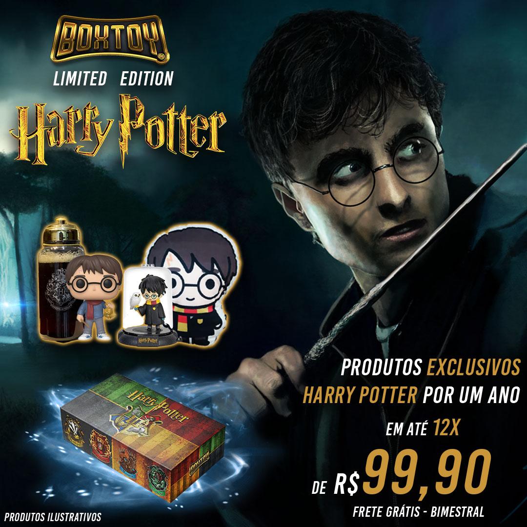 Boxtoy Edição Limitada - Harry Potter