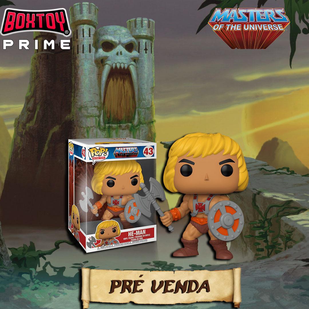 Próxima Box - FUNKO he-man