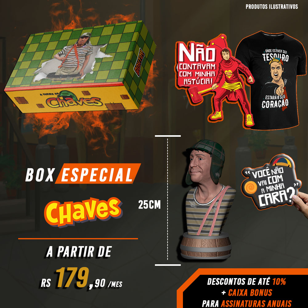 Box Prime Busto do chaves