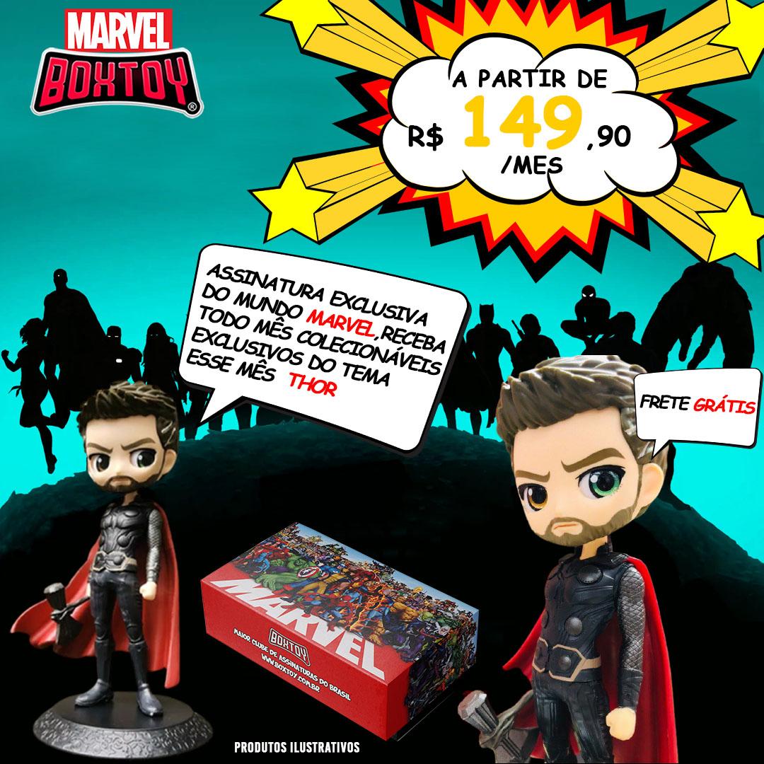 Box Especial - Marvel