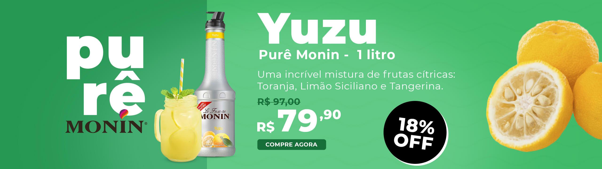 Purê Yuzu Monin 1 Litro