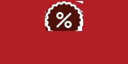 Desconto de 5%