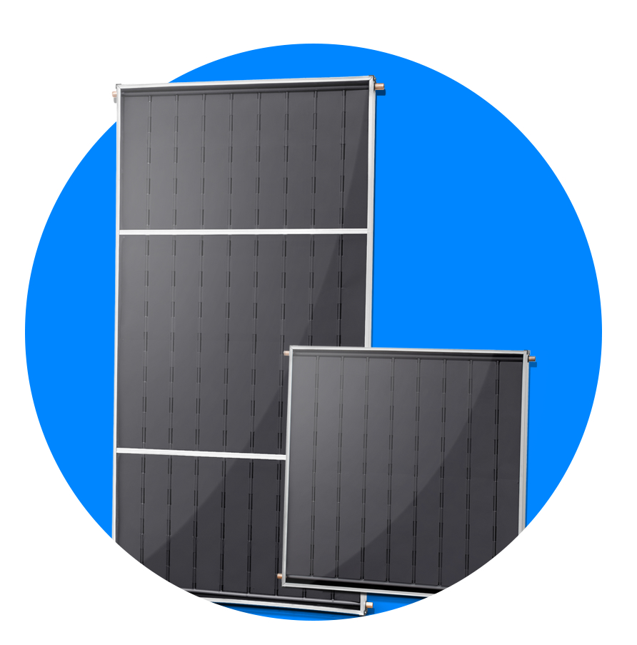 Ícone - Placa coletor para aquecedor solar