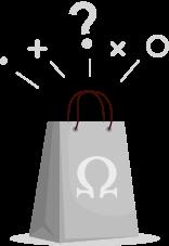 Imagem ilustrativa para quando sua sacola está sem produtos adicionados.