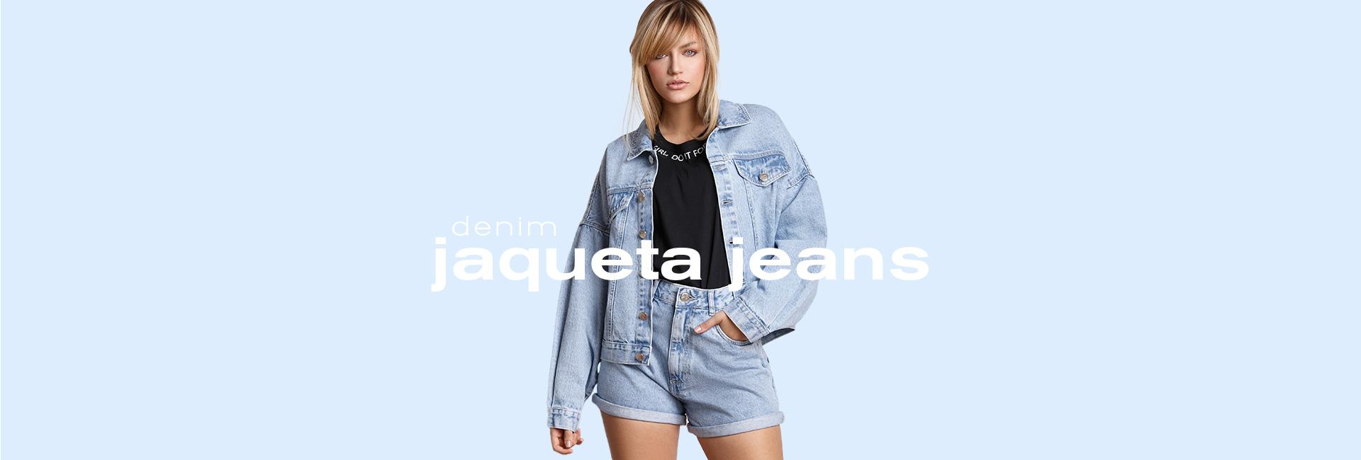Jaqueta Jeans Clariá