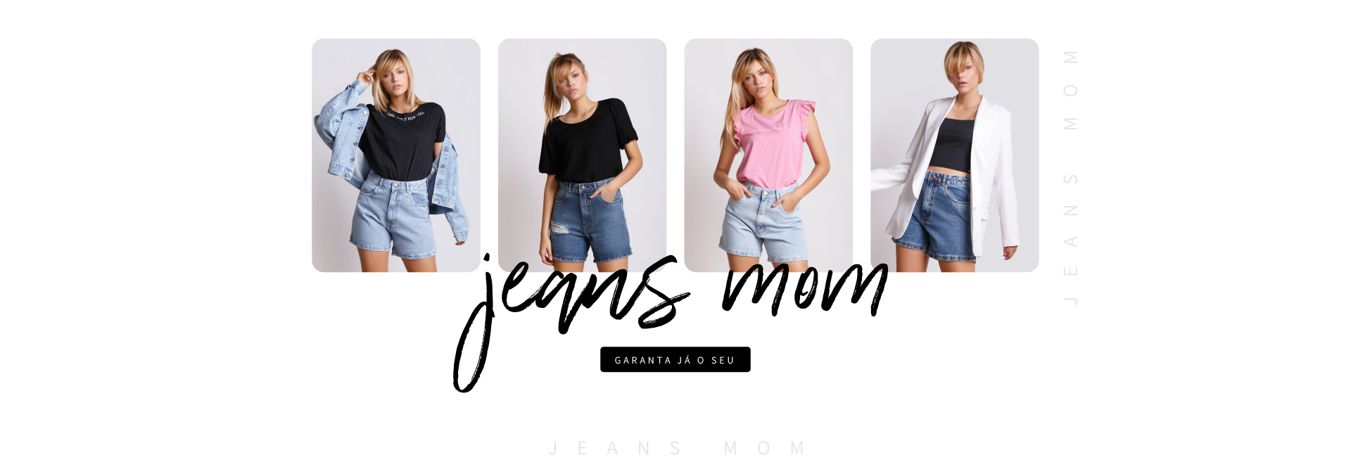 SHORT JEANS MOM CLARIÁ