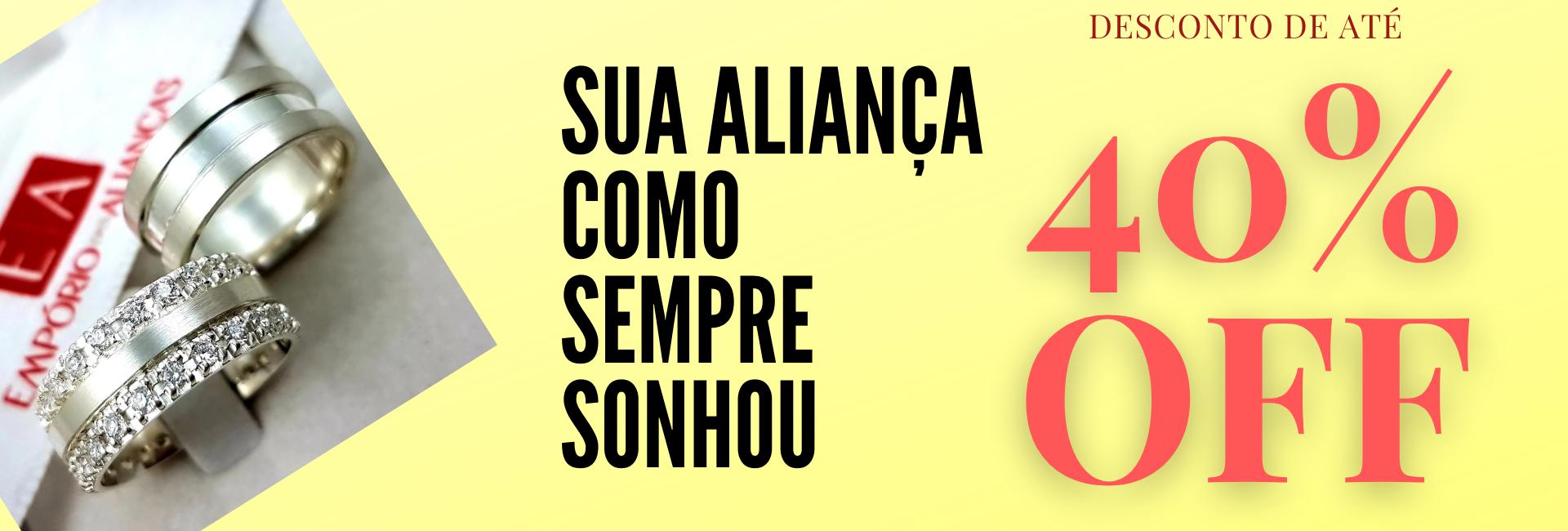 ALIANÇAS DE PRATA NAMORO COMPROMISSO