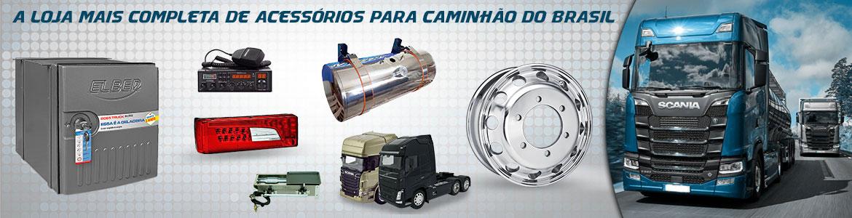 A loja mais completa de acessórios para caminhão do Brasil