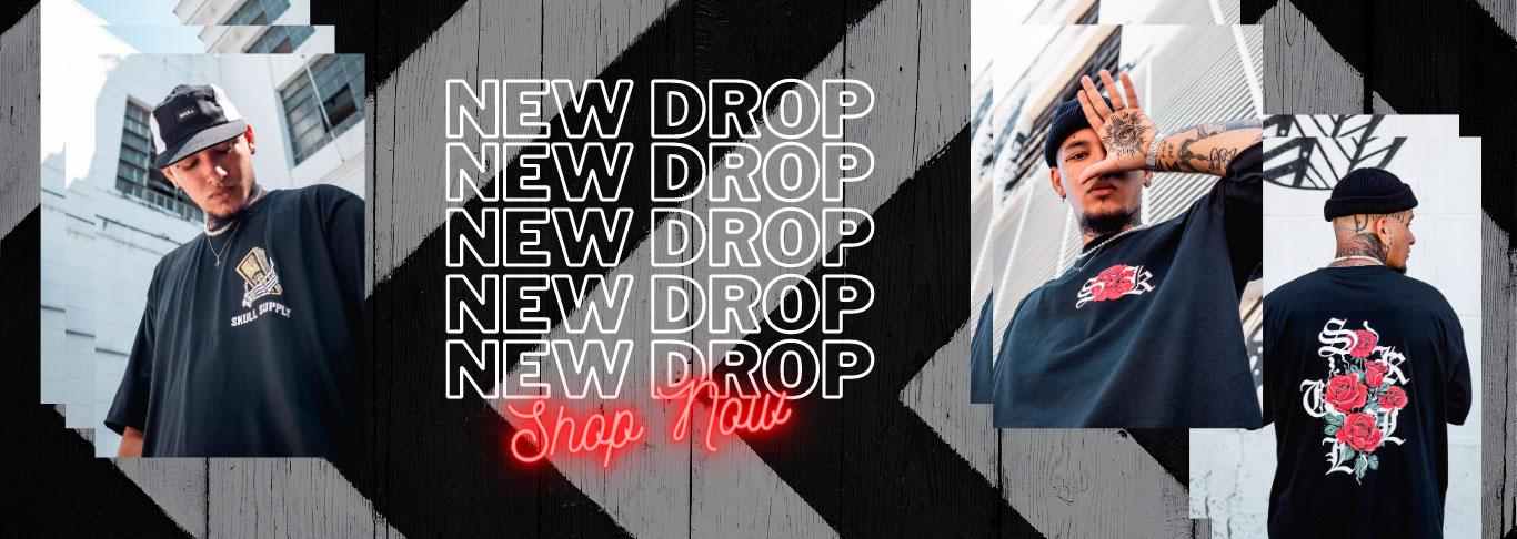 Banner Skulll Clothing New Drop 2021