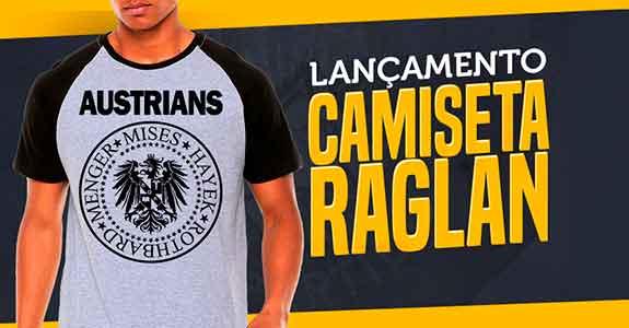 Lançamento - Camisetas Raglan