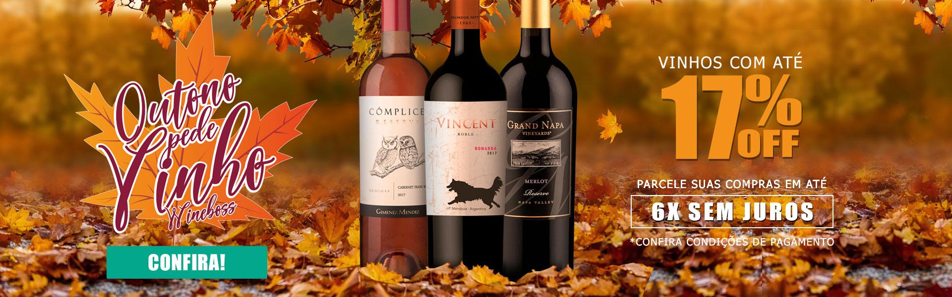 Outono pede Vinho